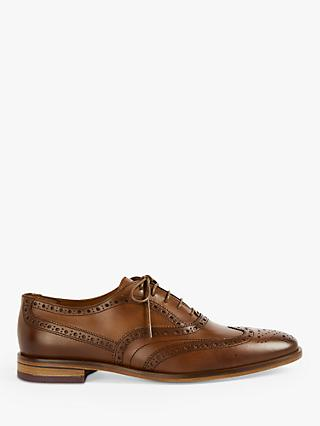 Ted Baker Fedinos Leather Brogues, Tan