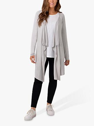 Live Unlimited Curve Fine Knit Cardigan, Grey
