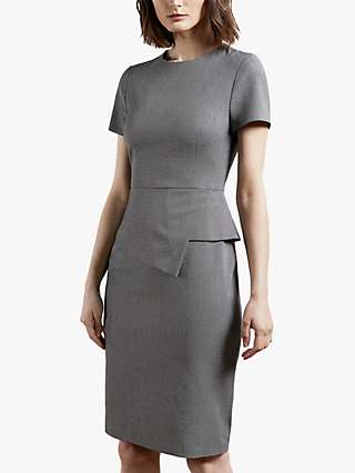 Ted Baker Janza Tailored Dress, Grey