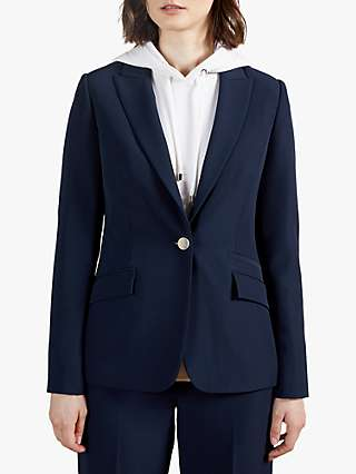 Ted Baker Rrae Slim Tailored Jacket, Blue Navy