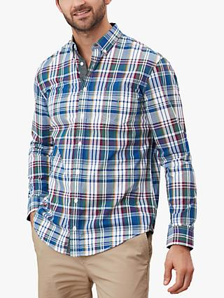 Joules Lyndhurst Check Shirt, Purplarchk