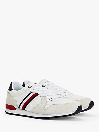 Tommy Hilfiger Iconic Material Mix Trainers, White