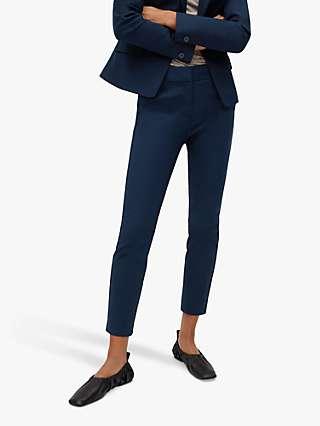 Mango Suit Slim Fit Trousers