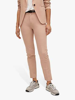 Mango Belted Suit Trousers