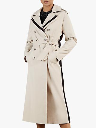 Ted Baker Daesti Contrast Detail Trench Coat