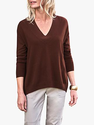 Pure Collection Cashmere V-Neck Jumper
