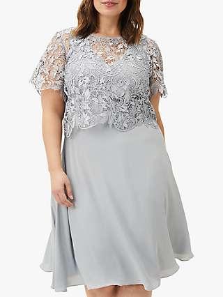 Studio 8 Ezra Lace Dress, Mineral Green