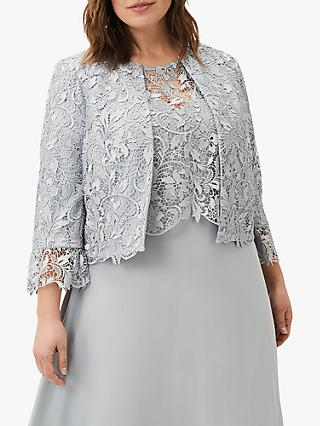 Studio 8 Luisa Lace Jacket, Mineral Green