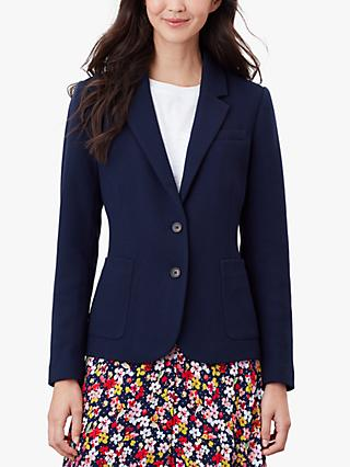 Joules Margot Tailored Blazer, French Navy