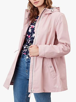 Joules Shoreside Waterproof Coat, Mauve