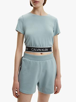 Calvin Klein Performance Mesh Crop Top