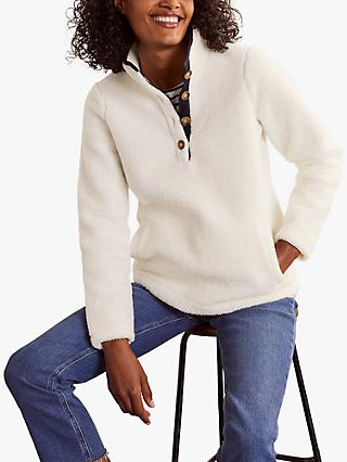 Boden Martha Teddy Jumper, Ivory