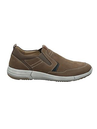 Josef Seibel Enrico 04 Leather Trainers, Taupe