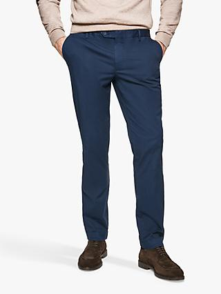 Hackett London Cotton Blend Straight Chinos