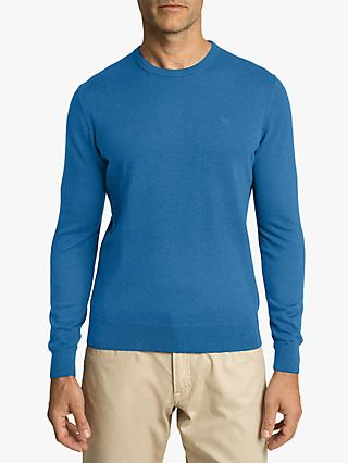 Hackett London Cotton Silk Crew Neck Jumper