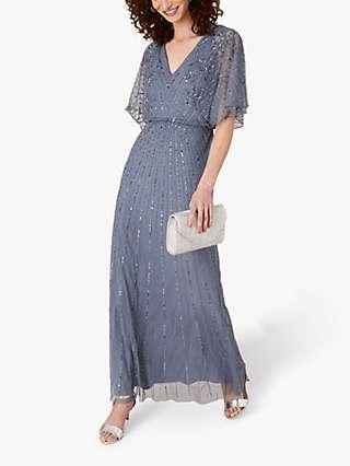 Monsoon Holly Embellished Maxi Dress