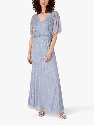Monsoon Holly Embellished Maxi Dress
