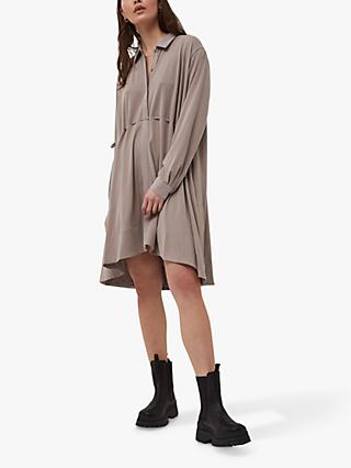 French Connection Renya Shirt Dress, Walnut