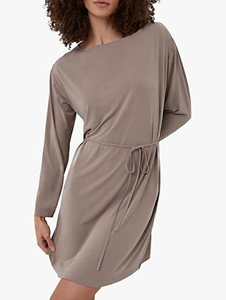 French Connection Renya Tunic Dress, Walnut