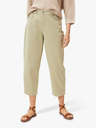 Phase Eight Romilly Waist Jeans, Sage Green