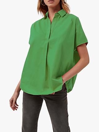 French Connection Cele Rhodes Poplin Short Sleeve Shirt
