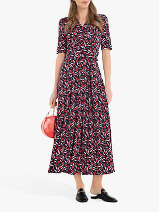 Jolie Moi Amaka Floral Maxi Dress, Navy/Multi