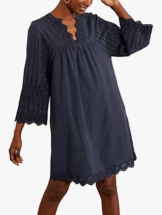 Boden Erin Broderie Cotton Dress