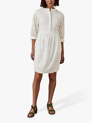 Boden Broderie Cotton Dress