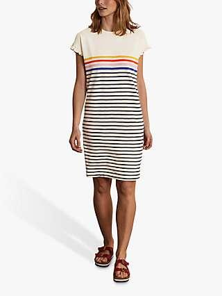 Boden Faye Stripe T-Shirt Dress, Multi