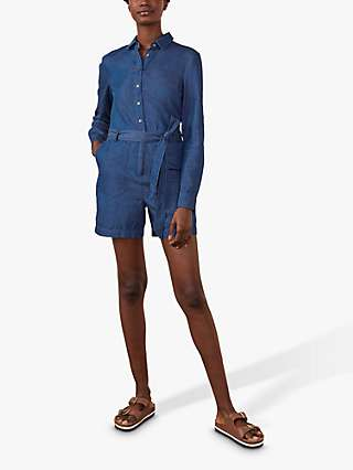 Boden Cosima Playsuit, Chambray