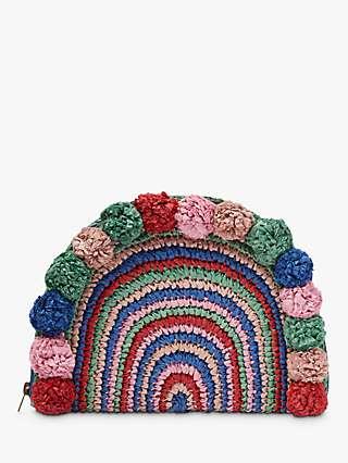 Boden Christina Crochet Clutch, Multi