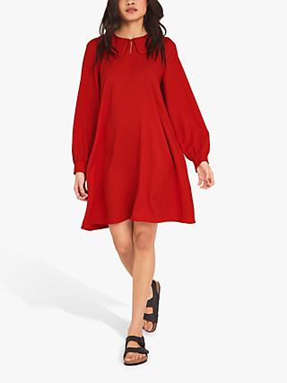Finery Janelle Crepe A-Line Dress