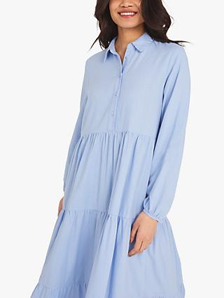 Finery Jessa Tiered Shirt Dress