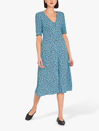 Finery Fayre Floral Tea Dress, Graphic Floral