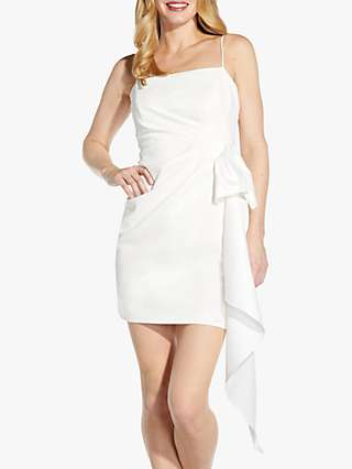 Adrianna Papell Cascade Mini Dress, Ivory