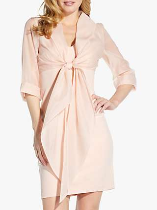 Adrianna Papell Organza Jacket Dress