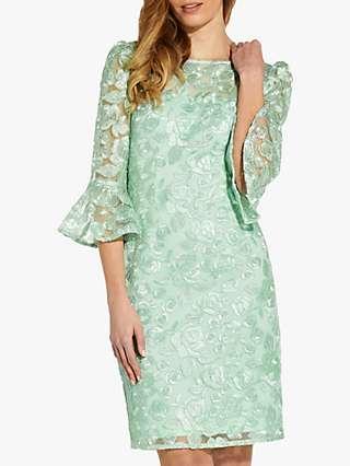 Adrianna Papell Rosie Sheath Dress, Mint Smoke