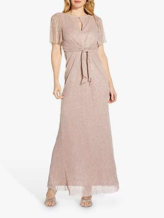 Adrianna Papell Stardust Gown, Blush