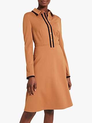 Damsel in a Dress Manda Dress, Camel/Black