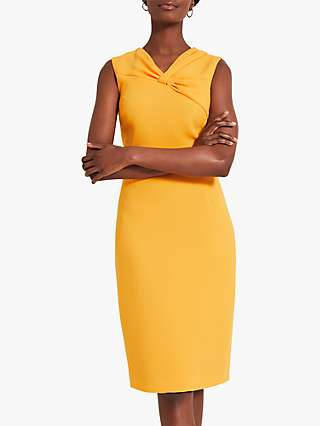 Damsel in a Dress Alanis Fitted Dress, Tangerine