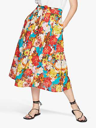 Thought Ramo Mexicano Tie Waist Floral Skirt, Multi