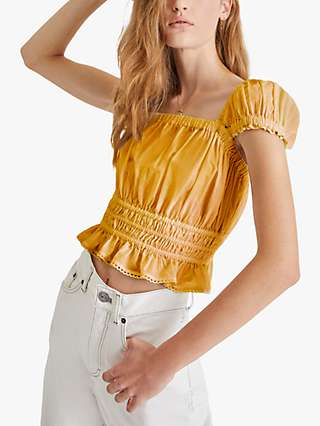 French Connection Almo Square Neck Top