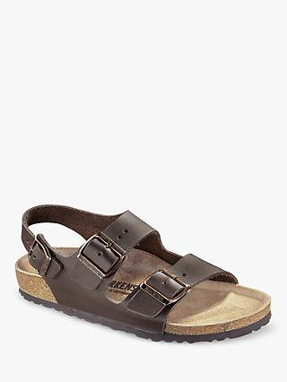 Birkenstock Milano Natural Leather Sandals