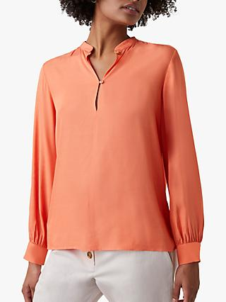 Great Plains Core Luxe Crepe Top