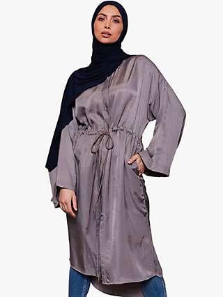 Aab Drawcord Midi Dress