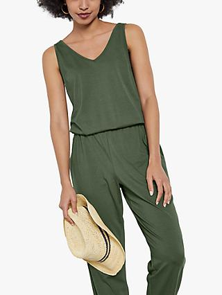 hush Jersey V-Neck Jumpsuit