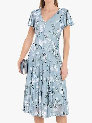 Jolie Moi Amia Floral Print Midi Dress