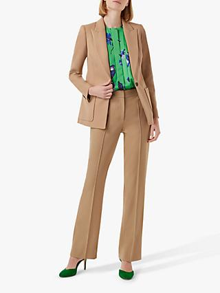 Hobbs Martina Tailored Blazer, Stone