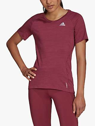 adidas Runner Short Sleeve Running Top