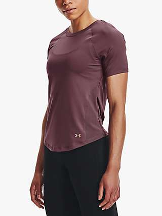 Under Armour Rush HeatGear® Mesh Short Sleeve Gym Top